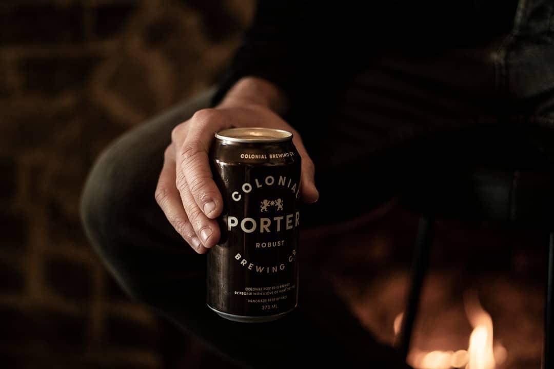 Colonial Porters beer