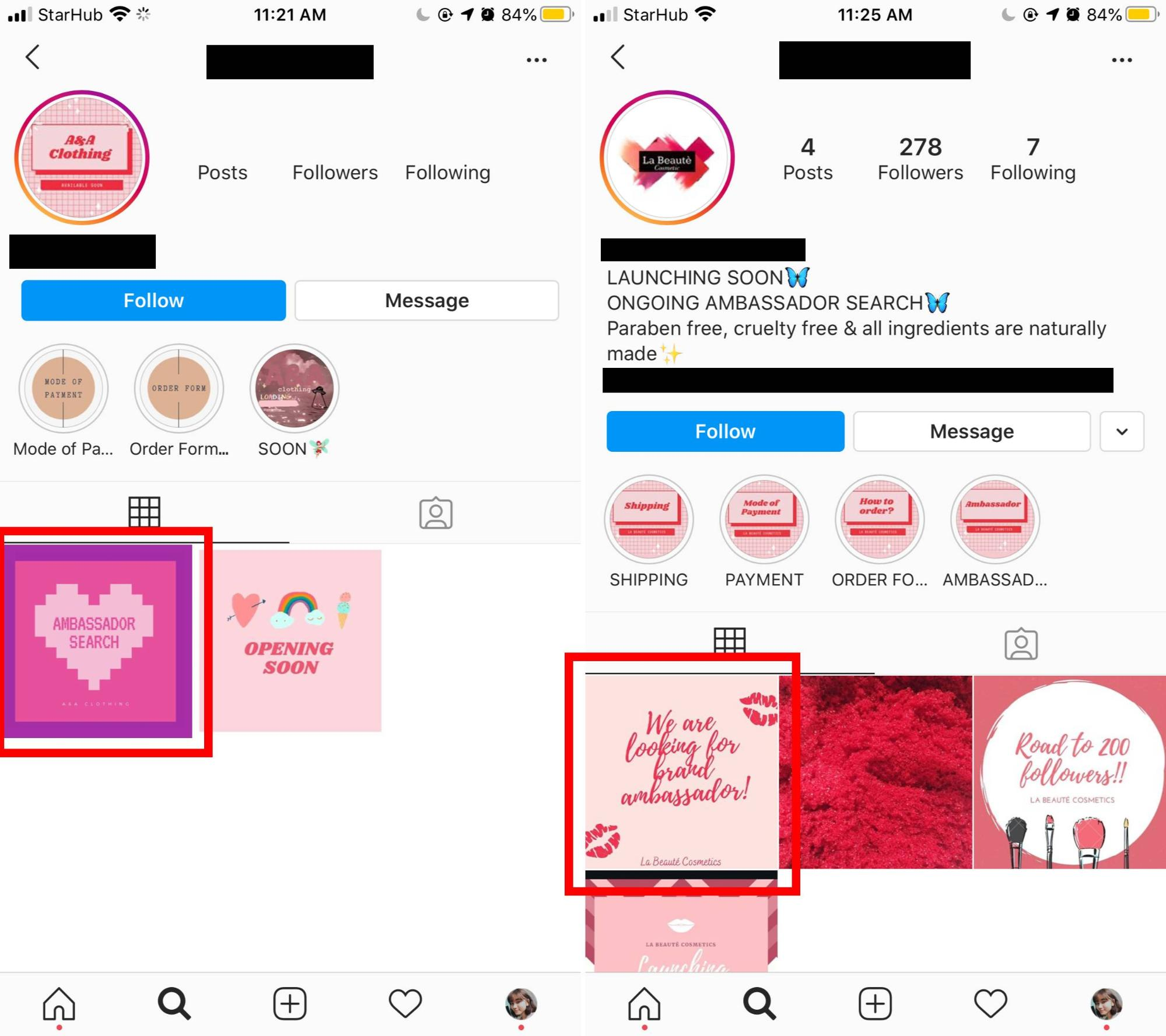common scams in Singapore - Instagram influencer scams have been on the rise.