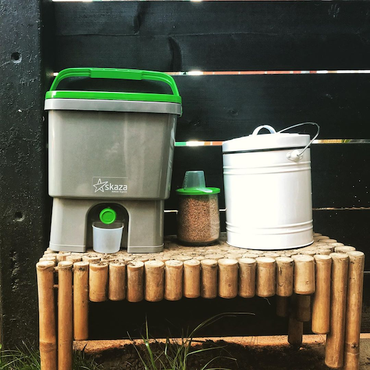 composting guide in Singapore - bokashi is a Japanese method that can be done indoors