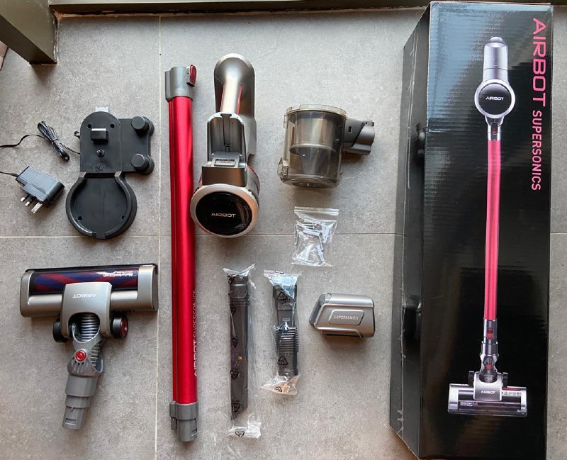 cordless vacuum cleaner - airbot supersonics parts