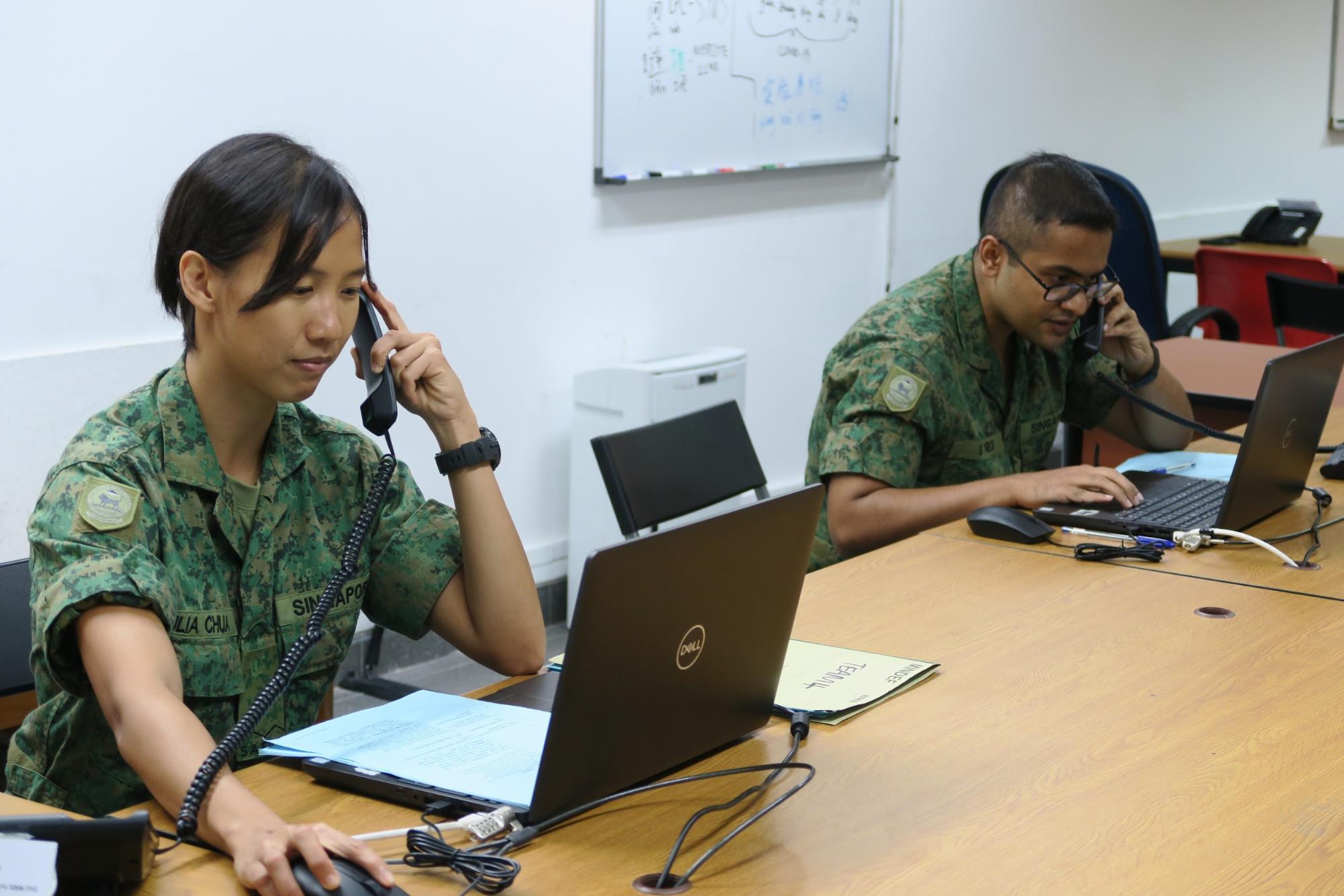 SAF call centre