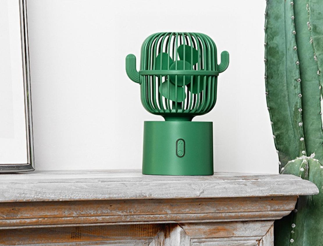cactus fan -best desk fans