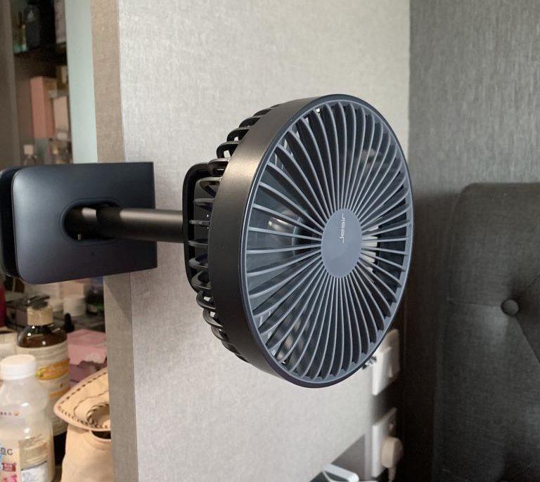 WAMP clamp fan