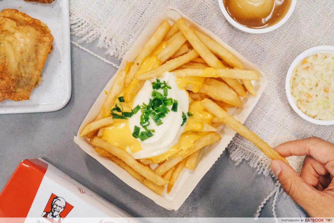 A simple recipe to recreate KFC's cheese fries can save you money.