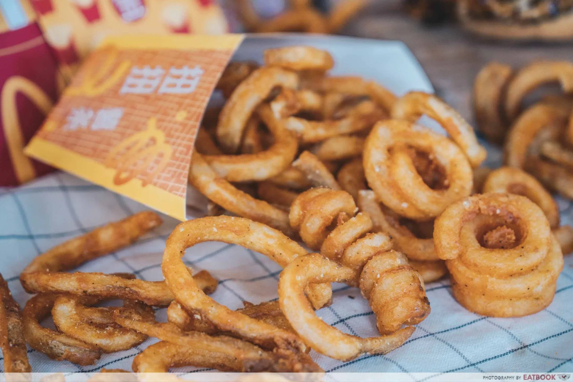 An alternative to McDonald's Prosperity twister Fries can be found in supermarkets.