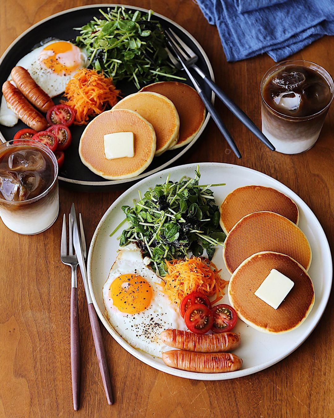 You can even spruce up your McDonalds fast food Hot Cake dupes and cheaper alternatives with your own sides for breakfast.