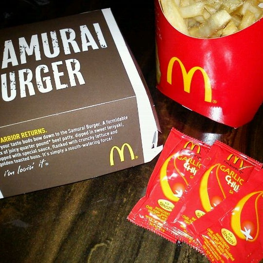McDonald's chilli sauce packets used to display Sinsin branding, suggesting that they were manufactured by them.