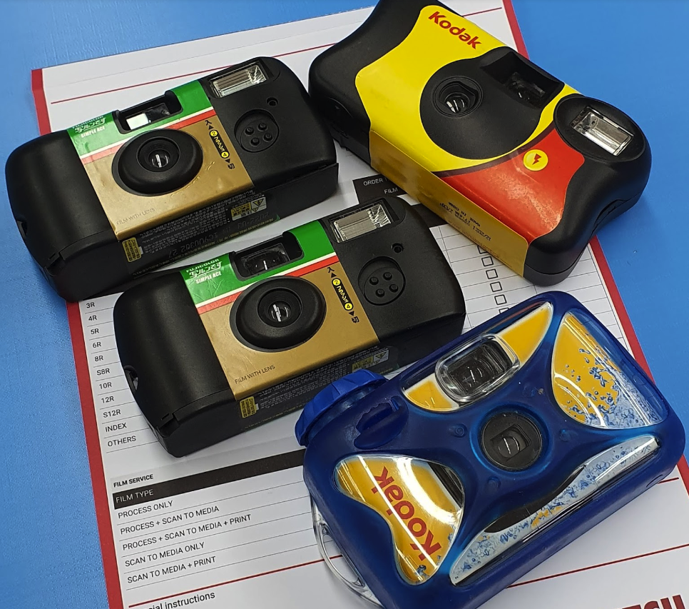 film camera singapore - disposable cameras are a great option for those who just want to dabble.