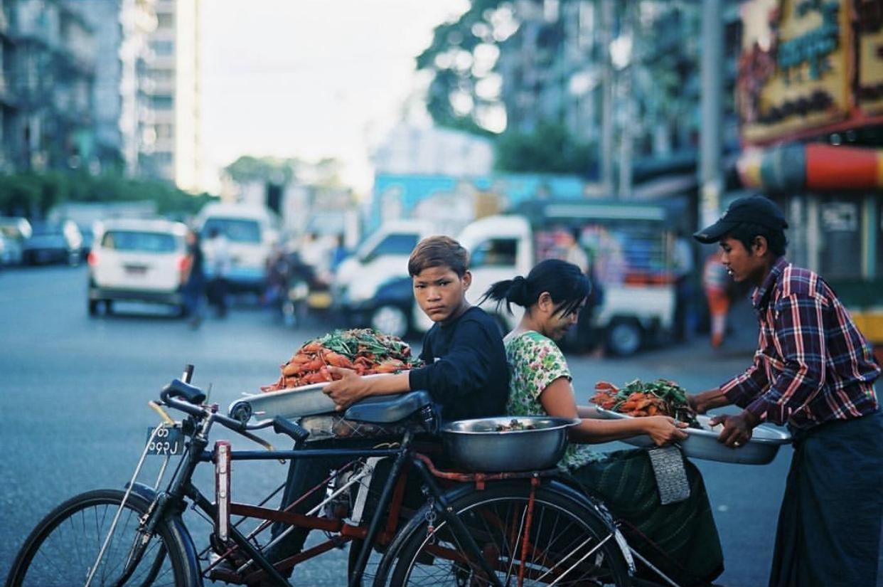 film camera singapore - a film photograph taken in Myanmar taken on an SLR