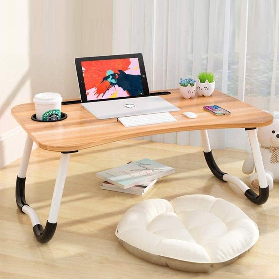 foldable study tables singapore - Muji styled folding table