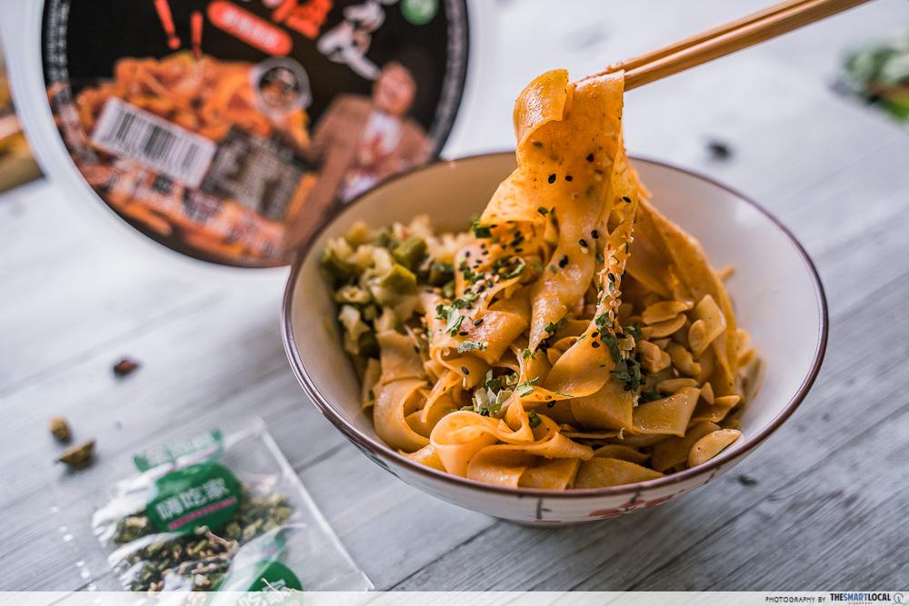 Hai Chi Jia - Ma Jiang Mianpi dry noodles