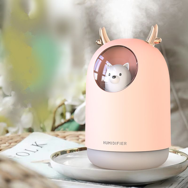 Humidifiers in Singapore - Cute Pet Cool Mist Diffuser