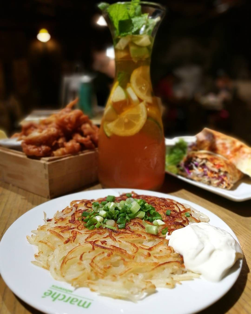 July 2020 Deals - enjoy rosti at 50% off at Marche Movenpick Singapore when you purchase a main meal.