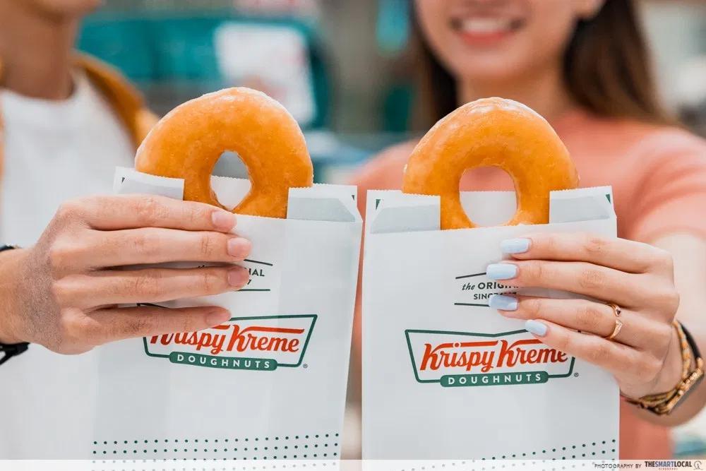 Krispy Kreme buy 12 get 6 free doughnut promotion