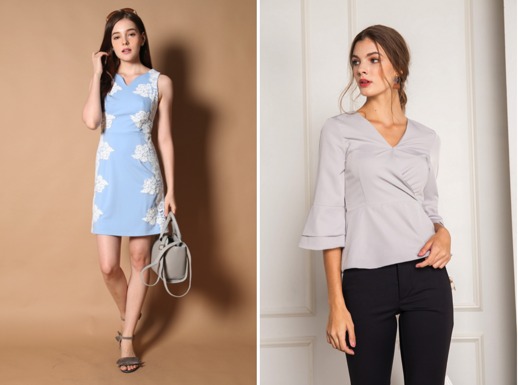 Enjoy up to 80% off ladies apparel including dresses, skirts, tops, rompers and jumpsuits at The Stage Walk