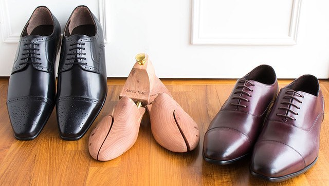 men's leather shoes in singapore - arden teal shoes