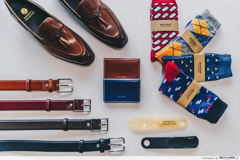men's leather shoes in singapore - earnest and collective shoes and accessories