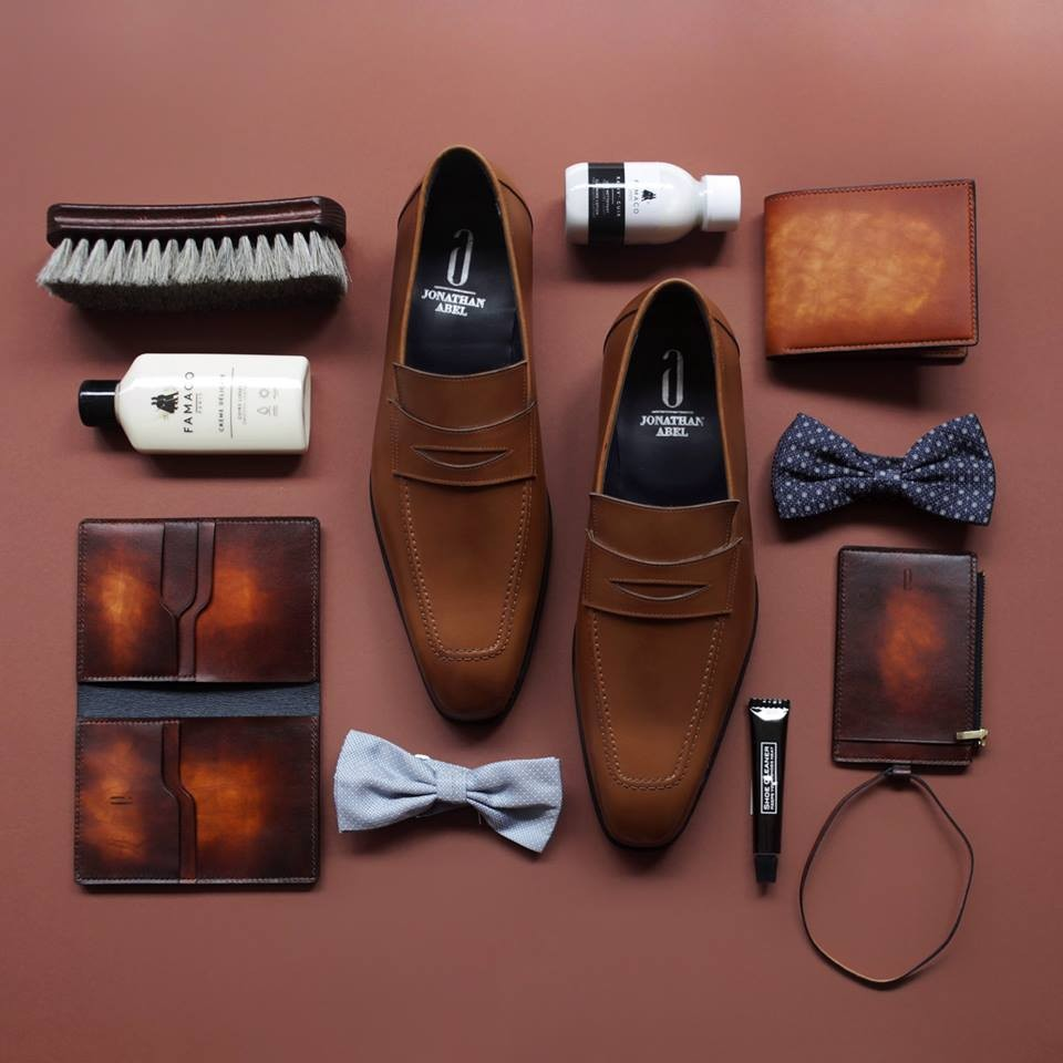 men's leather shoes in singapore - jonathan abel collection