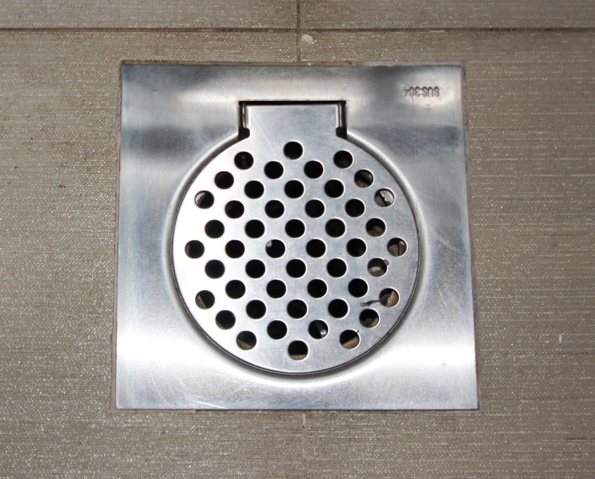 drainage trap - mosquito breeding