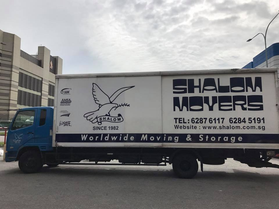 shalom movers - moving services in singapore
