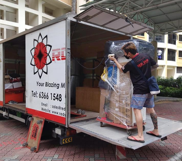 red sun movers - moving services in singapore