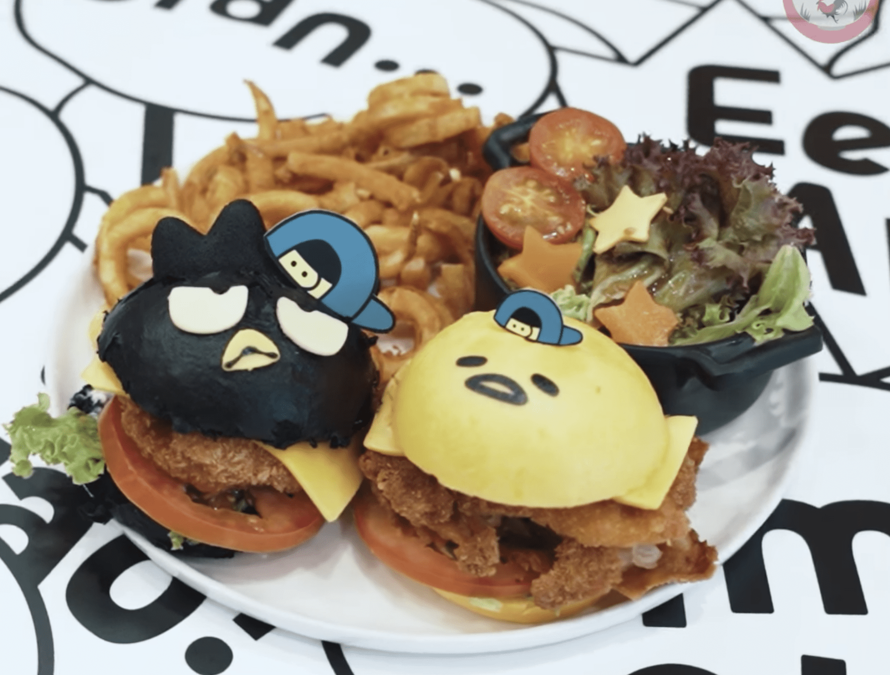 New Cafe August 2020 - Gudetama x Bad Badtz-Maru