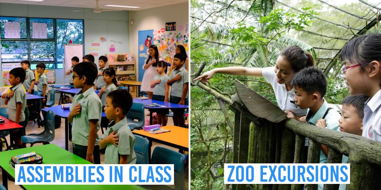 Nostalgic Memories Singaporean Students