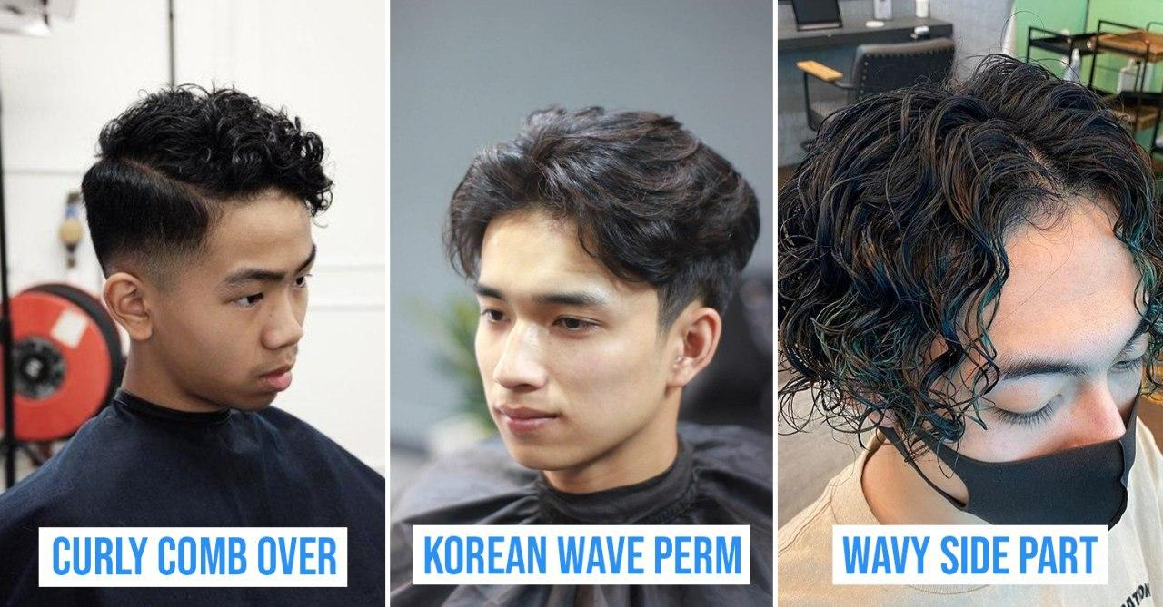 8 Perm Hairstyles For Men In 2020 For Singaporean Guys Who Want Volume Or Korean Waves