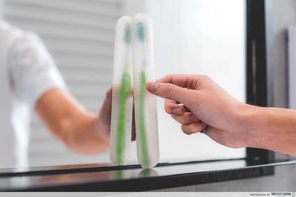 personal hygiene mistakes - toothbrush holder
