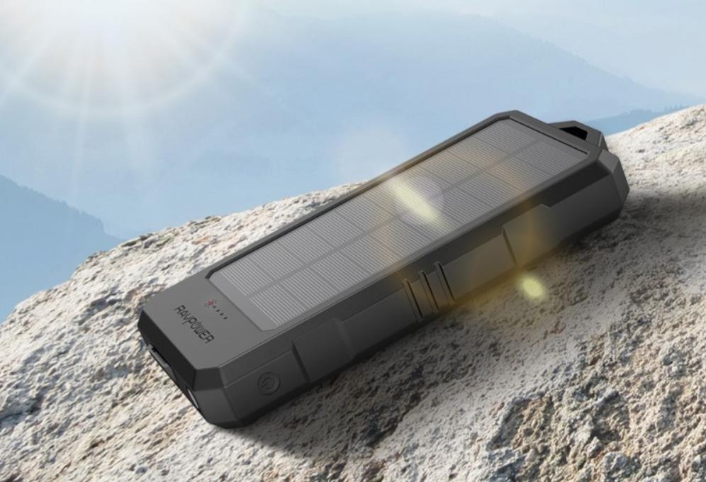 RAVPower Solar Waterproof 15,000mAh