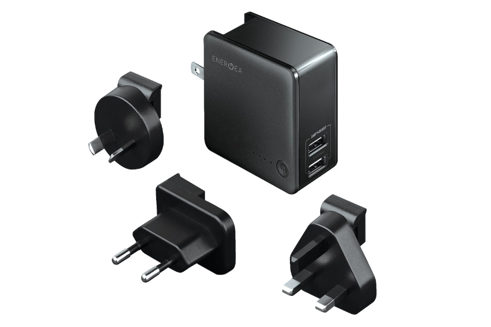 Energea Travelworld 2 in 1 Adapter & Power Bank