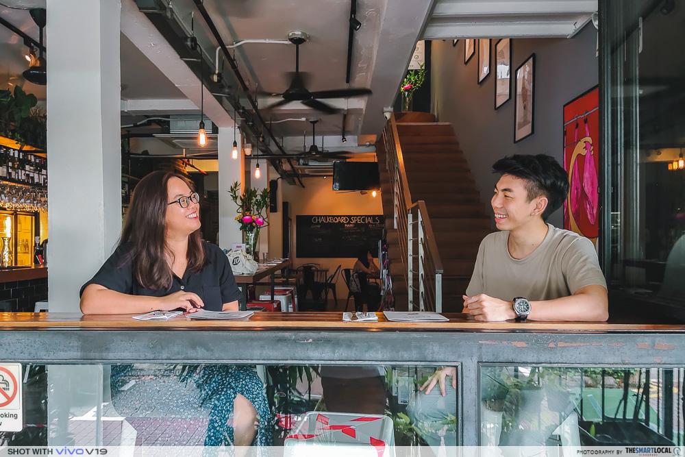 Quiet bars in Singapore - Plonk