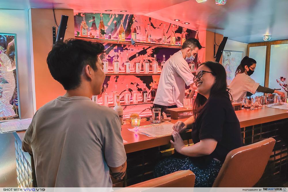 Quiet Bars in Singapore - Junior The Pocket Bar