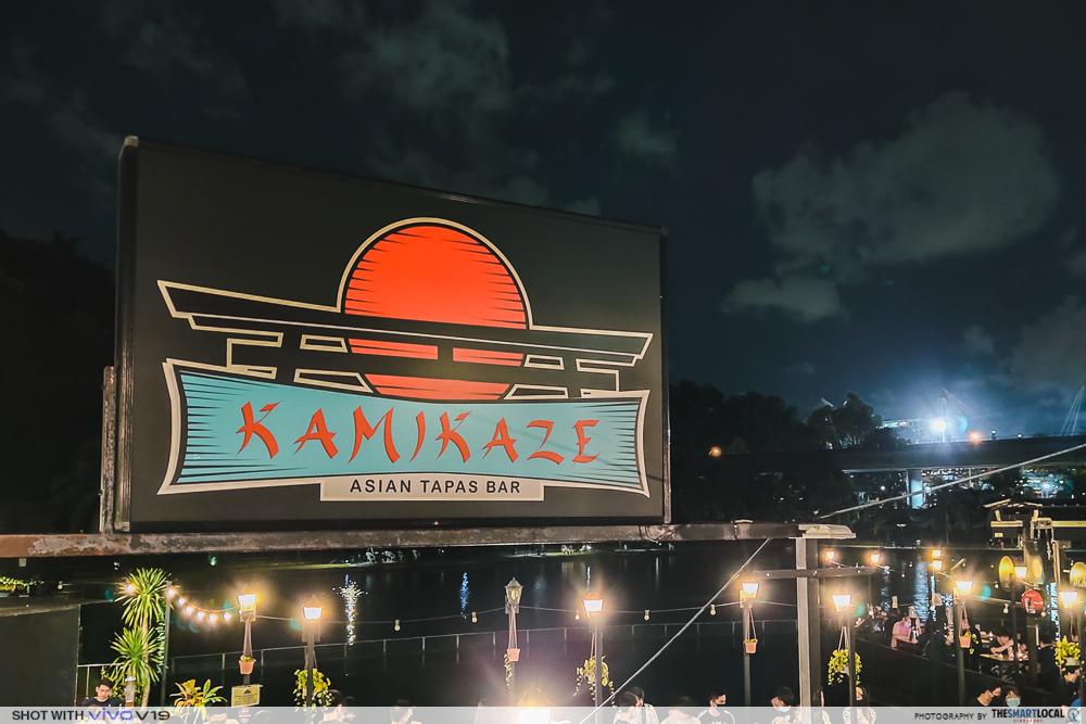 Quiet Bars in Singapore - Kamikaze Tapas Bar