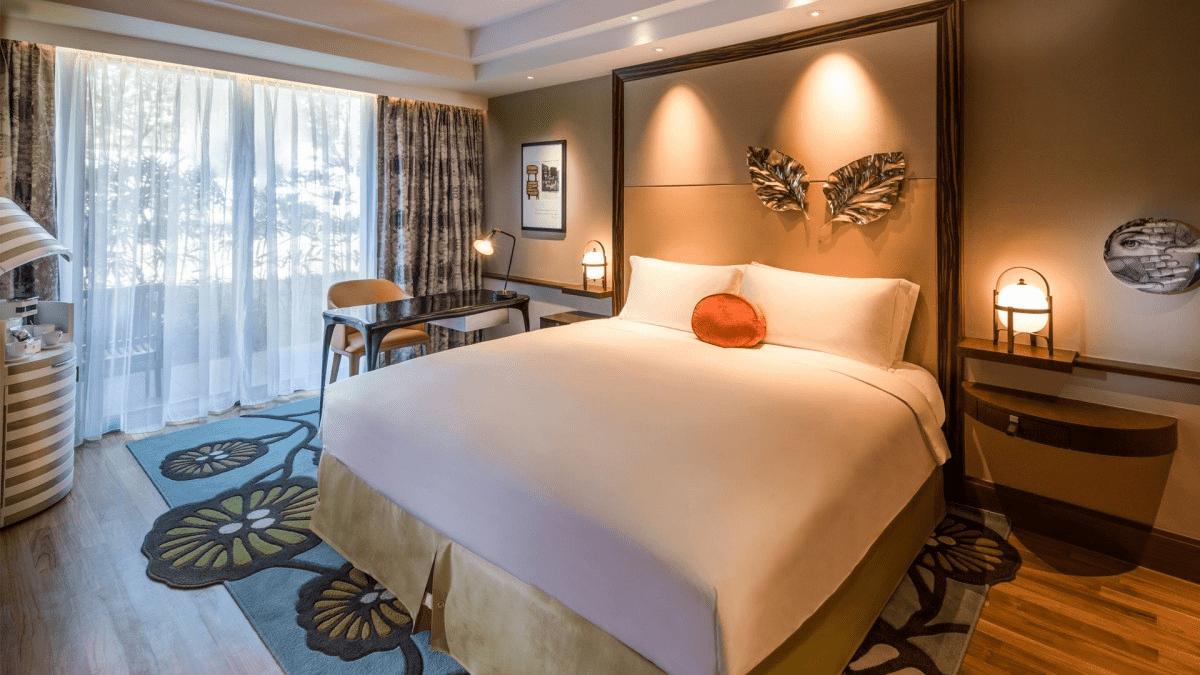 Phase 2 reopened hotels - room Sofitel Sentosa -