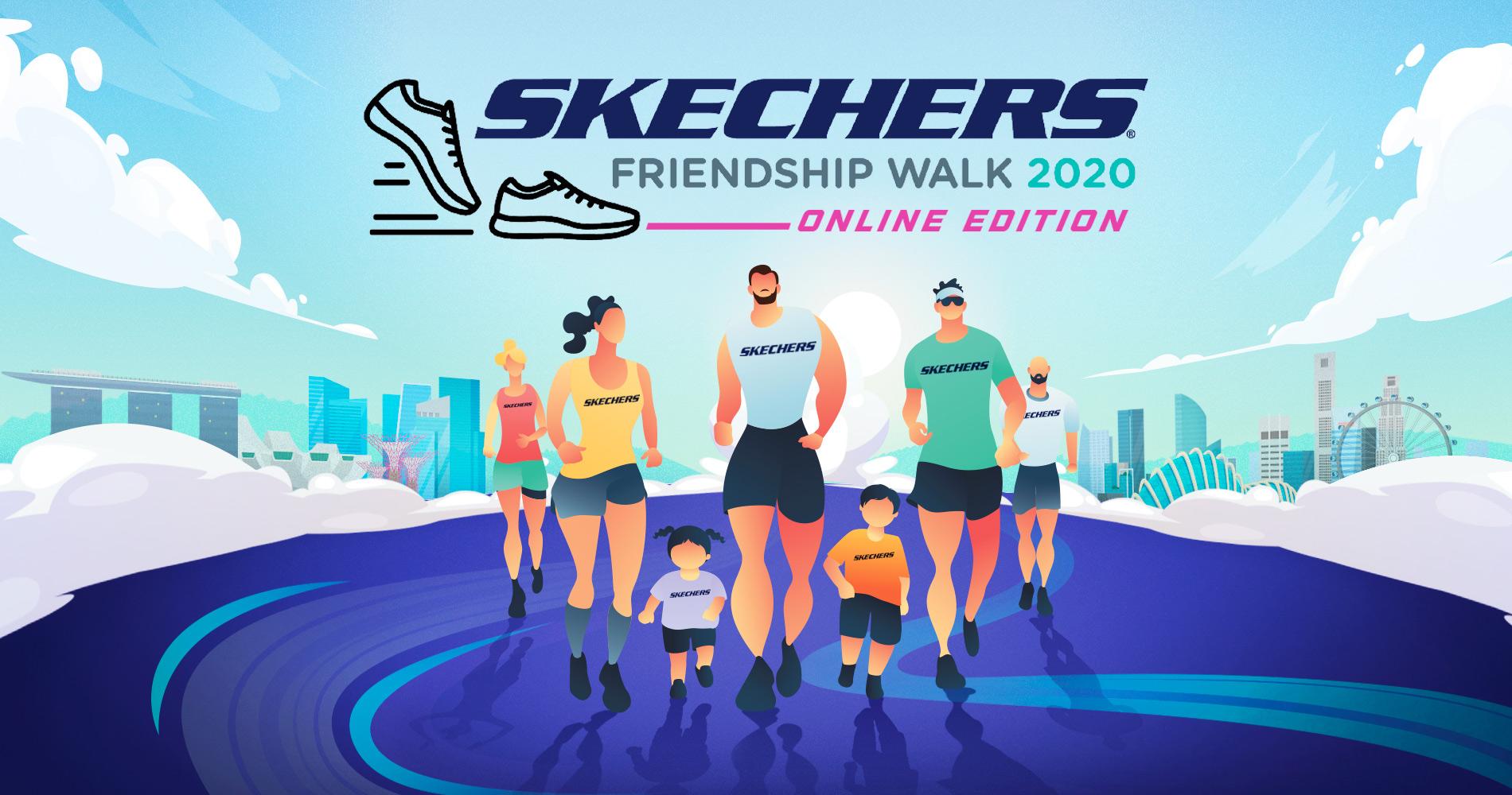 Skechers Virtual Walk