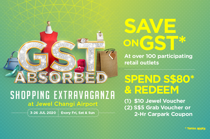 things to do jewel changi - no gst shopping