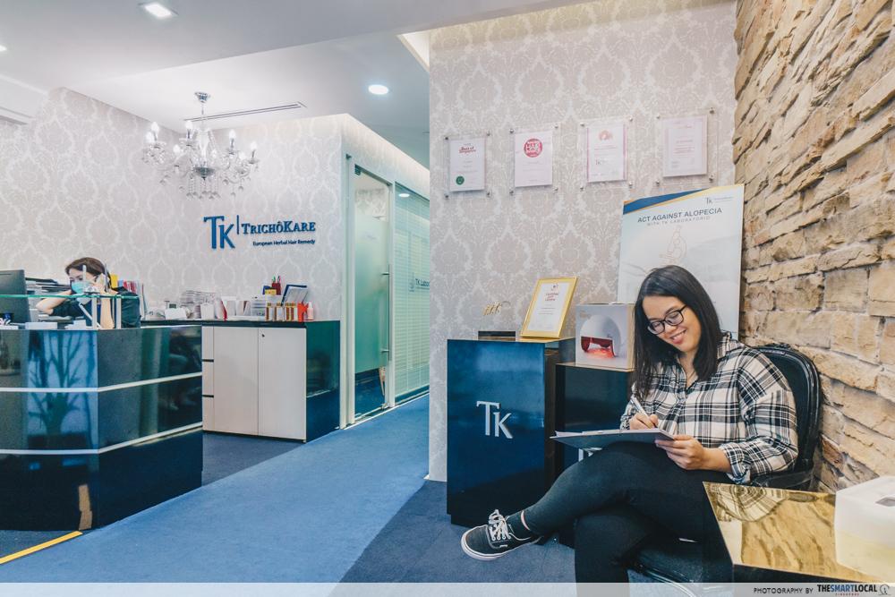TK Trichokare Hair Treatment - store