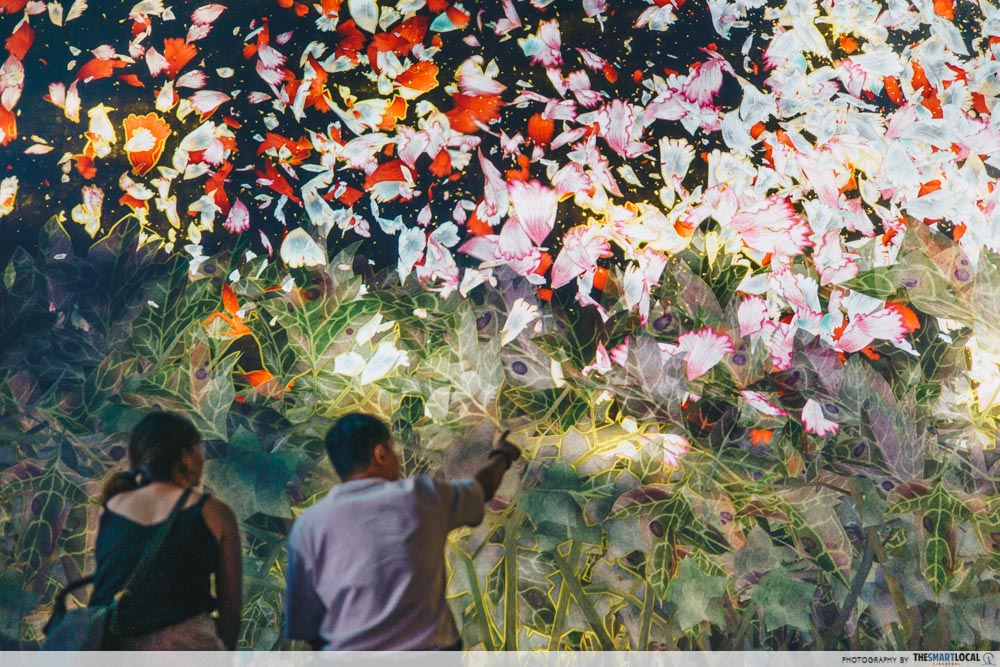 ad, ArtScience Museum, Future World, art galleries in Singapore, museums in Singapore, Marina Bay Sands - Blossoming Flowers