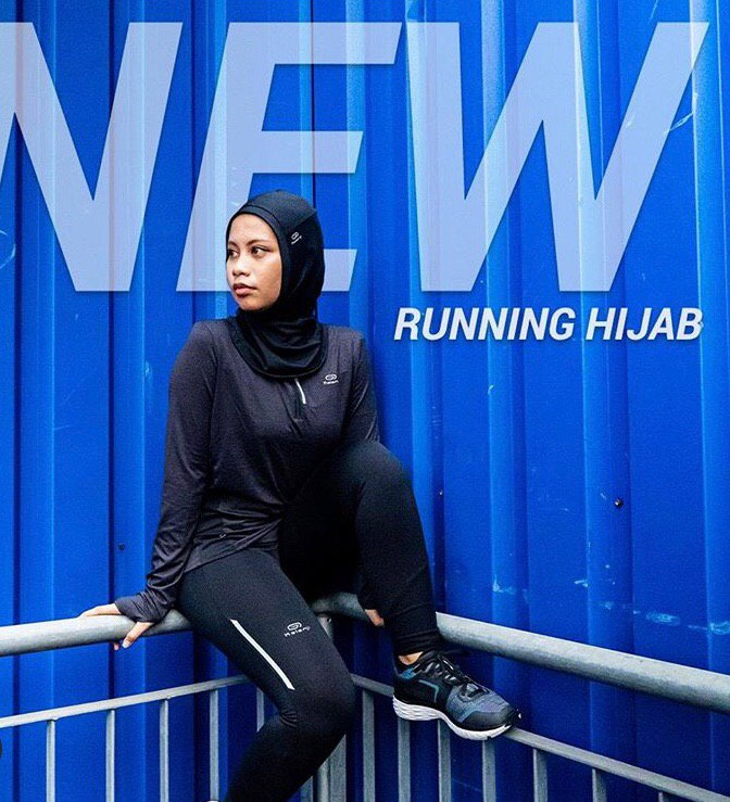 Win decathlon vouchers to buy Kalenji Running Hijab