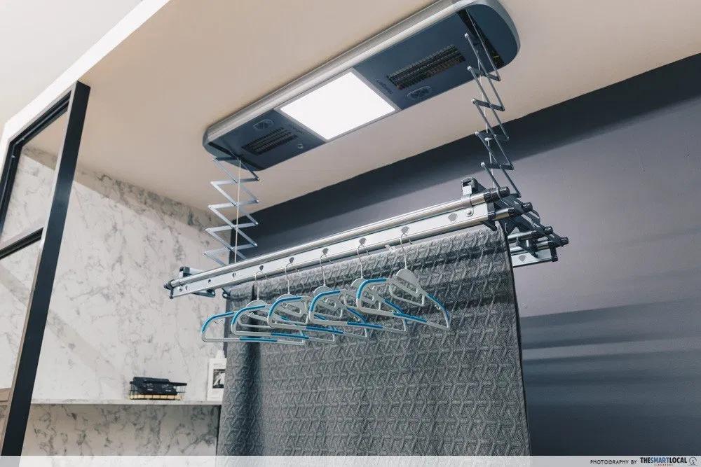 Steigen Solar Automated Laundry rack