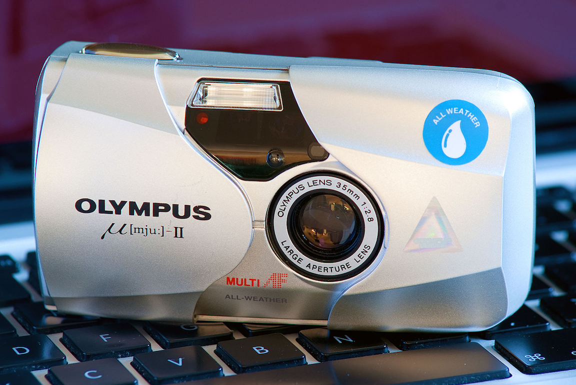 film camera singapore - the Olympus Mju camera is one of the best choices for compact cameras
