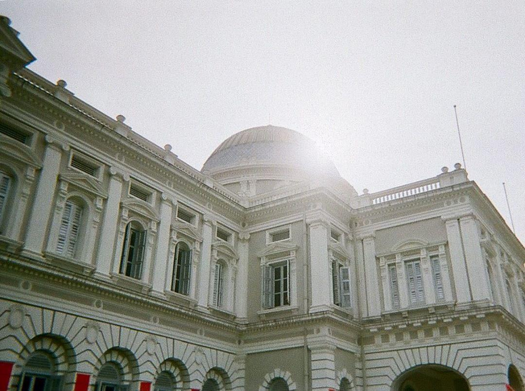 film camera singapore - the National museum captured on a disposable camera.
