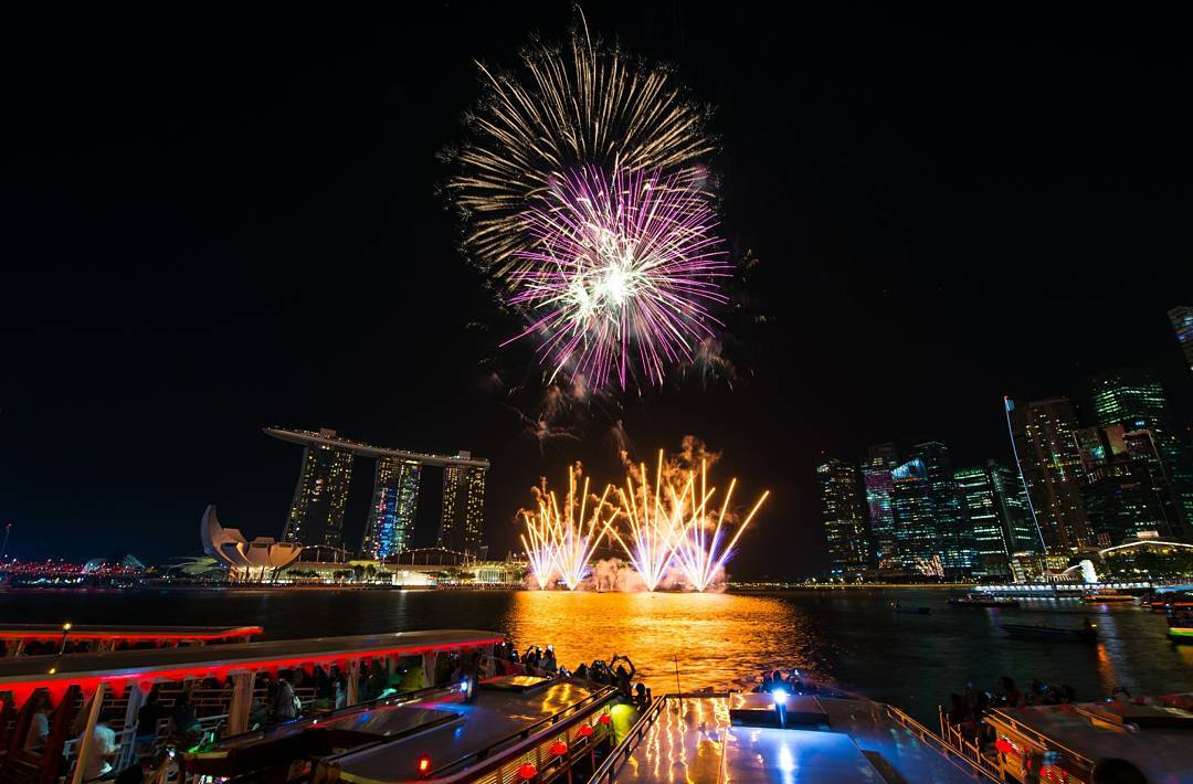 ndp 2020 fireworks - Esplanade is a great place to watch the fireworks from.