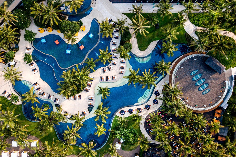 W Hotel Bali Swimming Pool