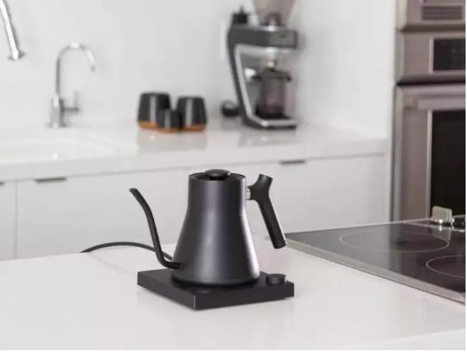 Fellow Stag EKG+ matte black electric kettle