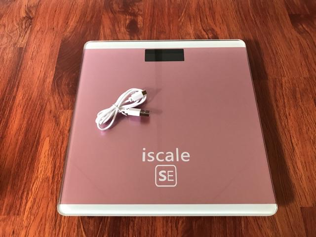IScale USB charging weighing scale