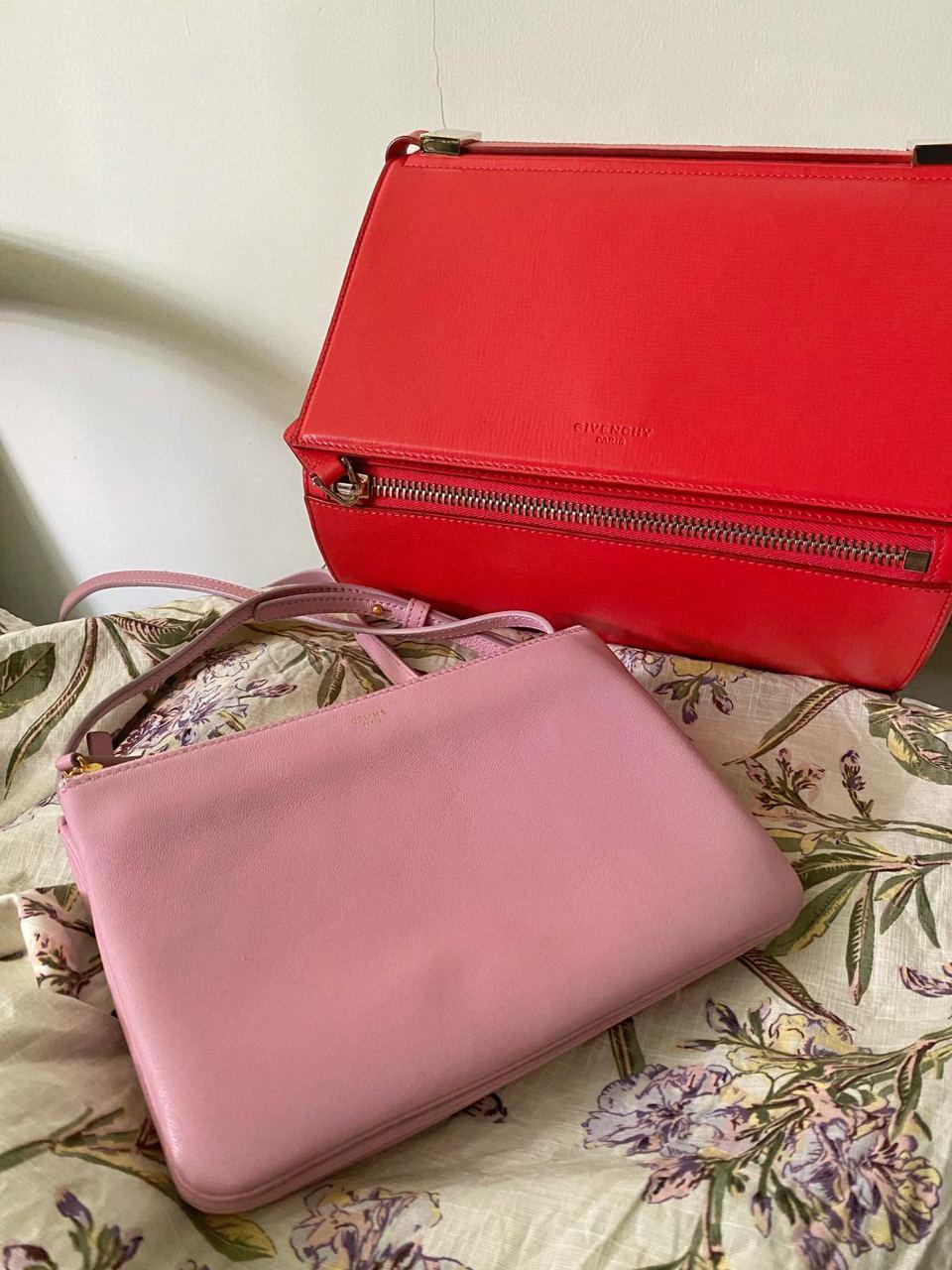 Branded goods - Celine Trio bag and Givenchy Pandora box bag