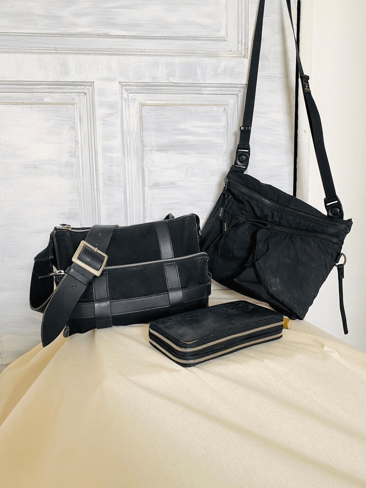 branded wallets and bags from Yohji Yamamoto
