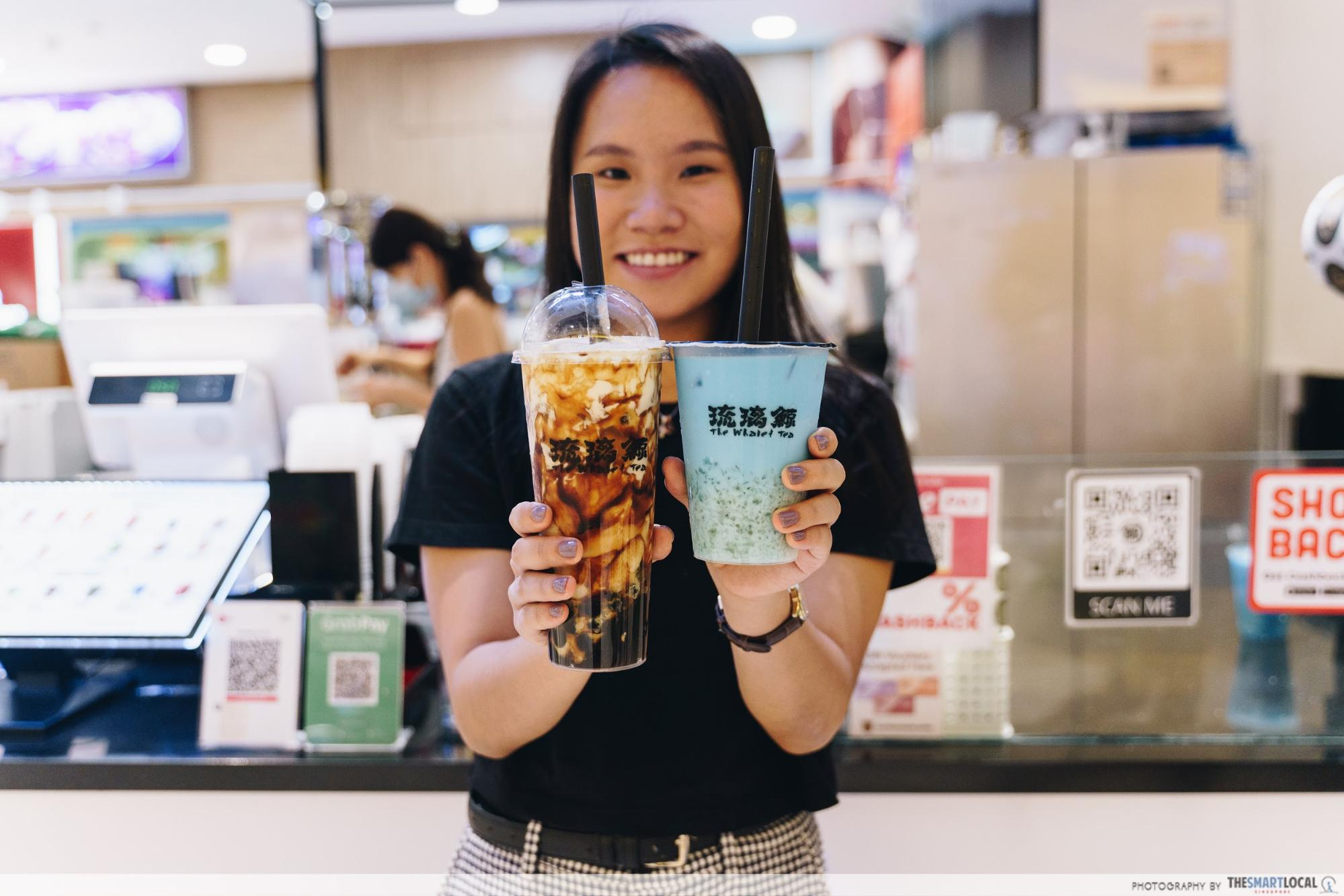 City Square Mall National Day Promos - Whale Tea